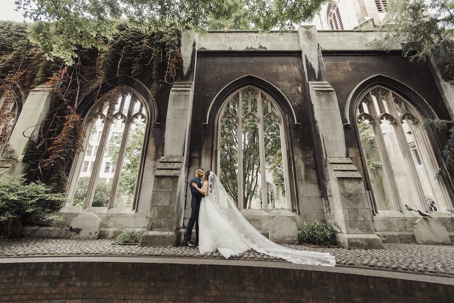 Naama and Anat, Naama and Anat Haute Couture, couture wedding gown, wedding dress, Lavish London Wedding, Goddess Gown, Coban Wedding Photography, bride and groom