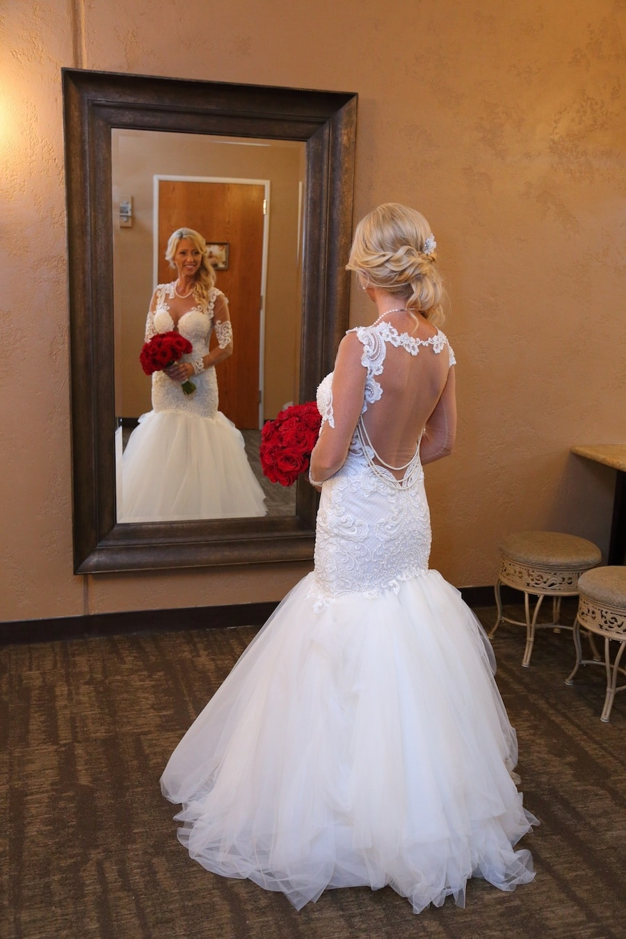Naama and Anat Haute Couture, red rose inspired wedding, classic, red and white, Naama and Anat Bridal, wedding dress, bridal couture, couture bridal, bridal designer, wedding gown, real wedding, bride