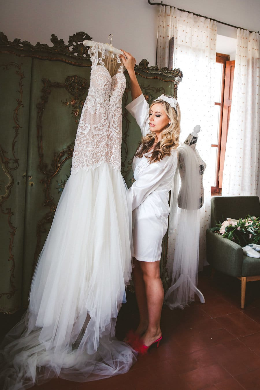 Naama and Anat, Naama and Anat Haute Couture, couture wedding gown, wedding dress, Italian Countryside Wedding, Diva Gown, Peggy Maison Pestea