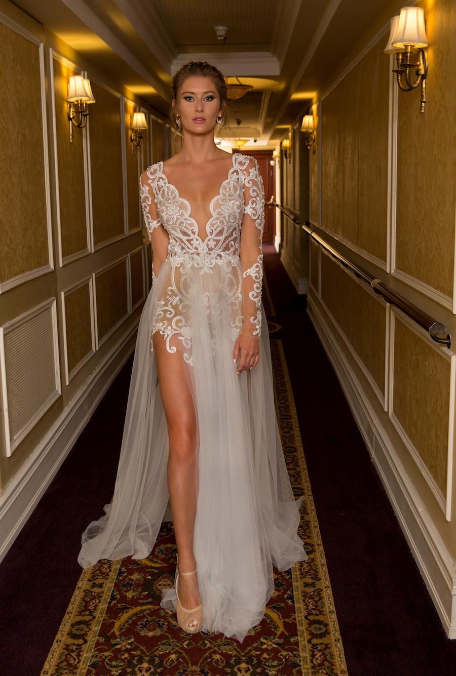 Naama and Anat Haute Couture, Wedding Dress Trends, 2018 Wedding Dress Trends, Naama and Anat Bridal, Couture Wedding Dress, Luxury Wedding Gown, Star Gown